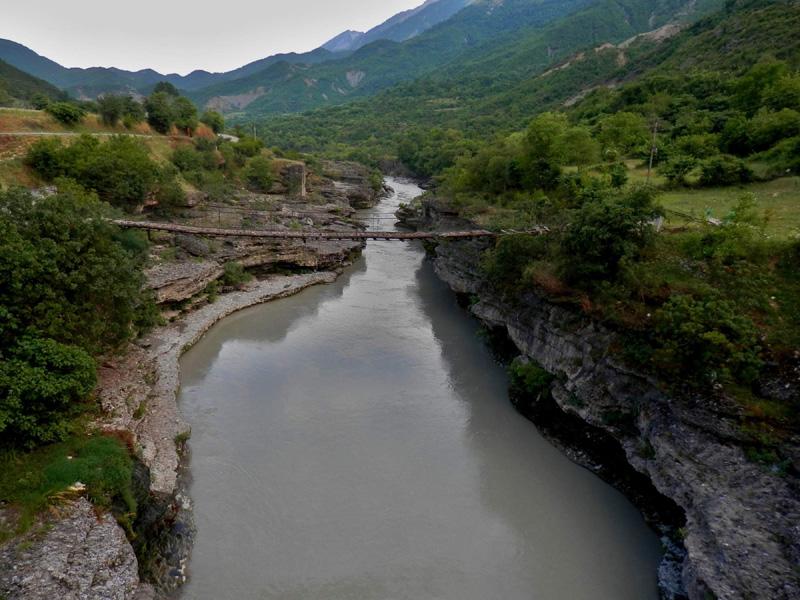 Řeka Vjose