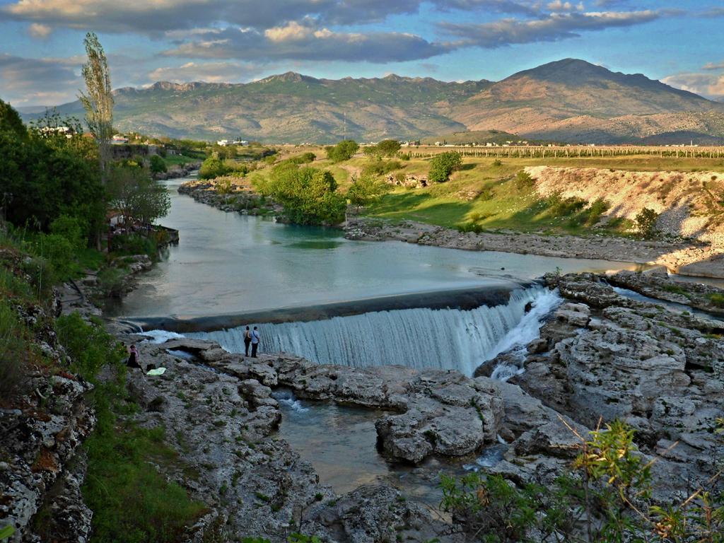 Vodopád Niagara na řece Cijevna